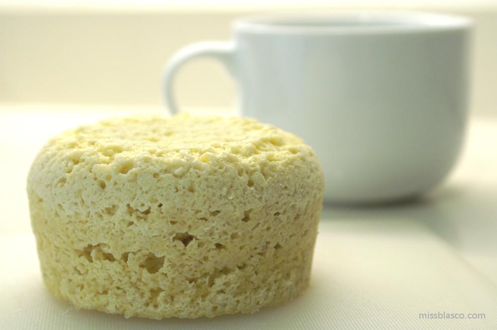bizcocho de almendra y coco sin azúcar