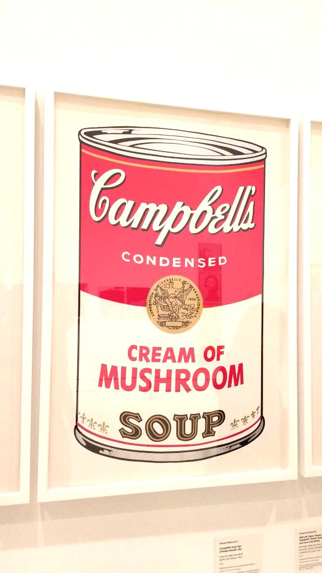 Crema Champiñones Warhol