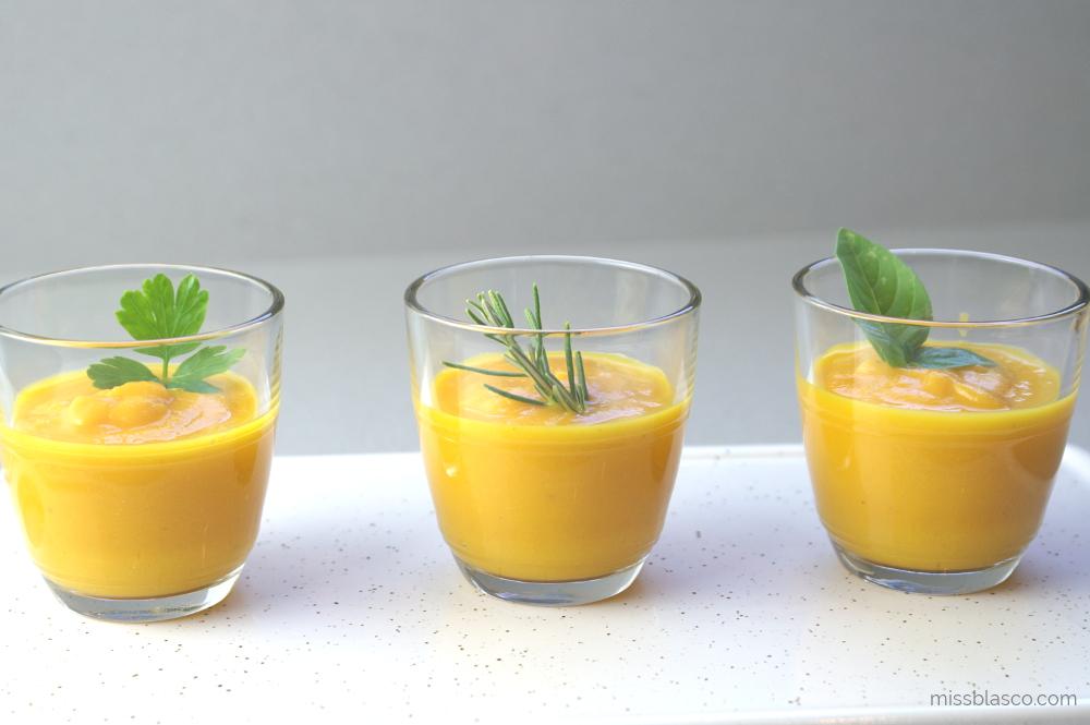 Crema Zanahoria y Naranja