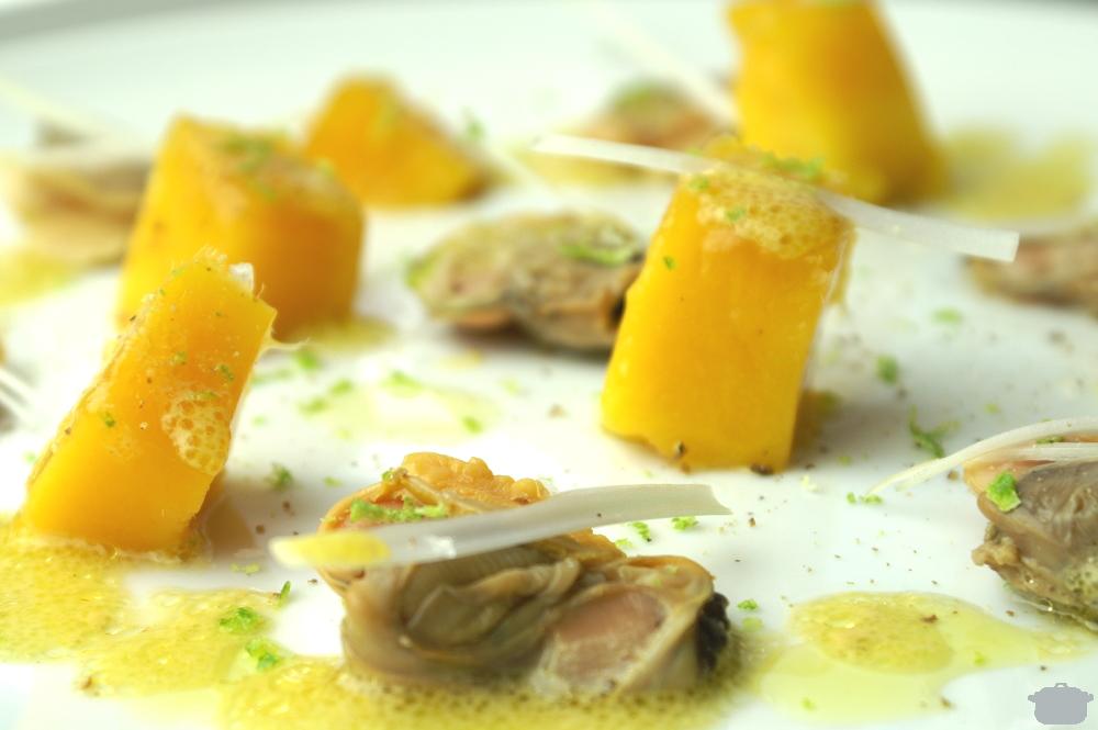 Ensalada de Mango y Almejas