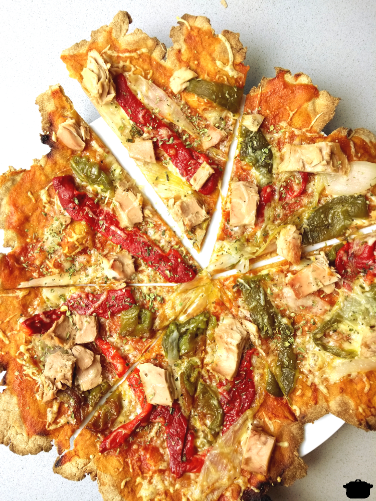 pizza de coliflor caulipower