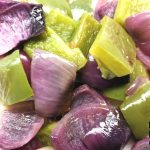 cebolla y pimiento