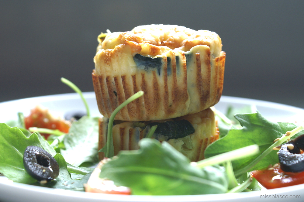 Video-Receta Express de Muffins de Calabacín y Pecorino
