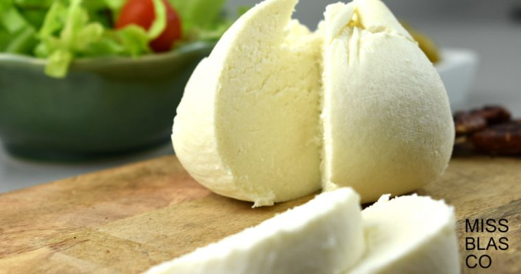 HOMEMADE RENNET-FREE CHEESE