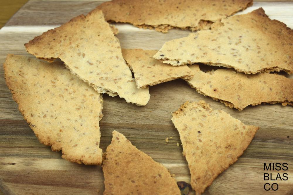 crackers paleo crujientes