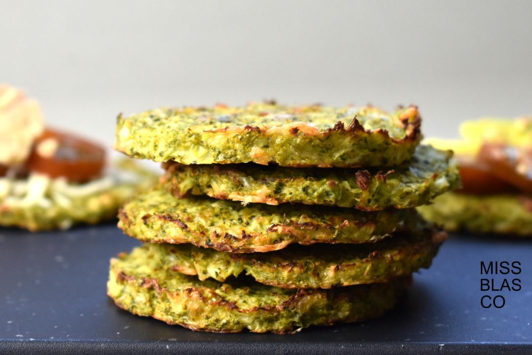 Masa de brócoli sin gluten