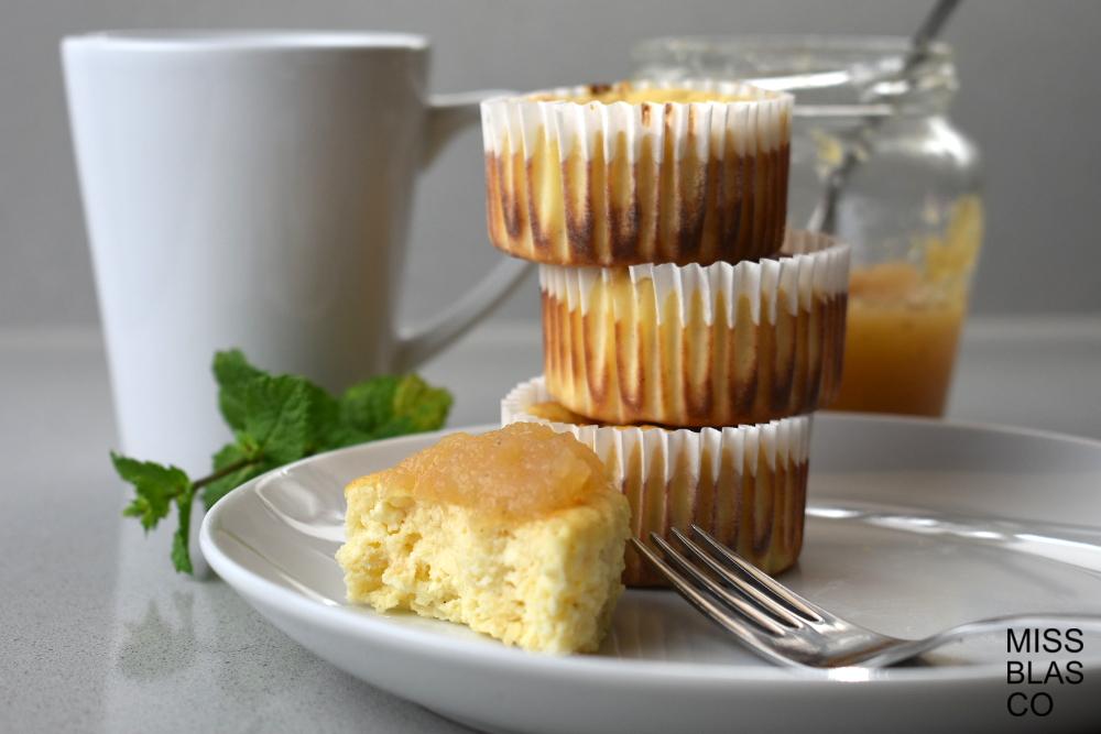 muffins de requeson