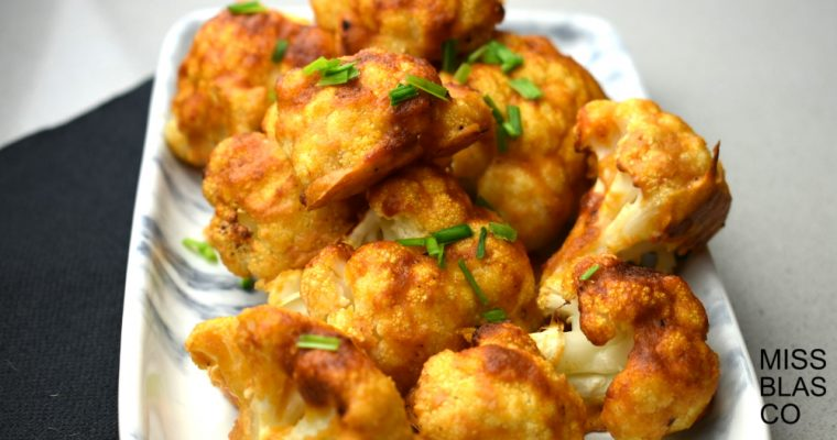 "Coliflor estilo ""buffalo wings"""