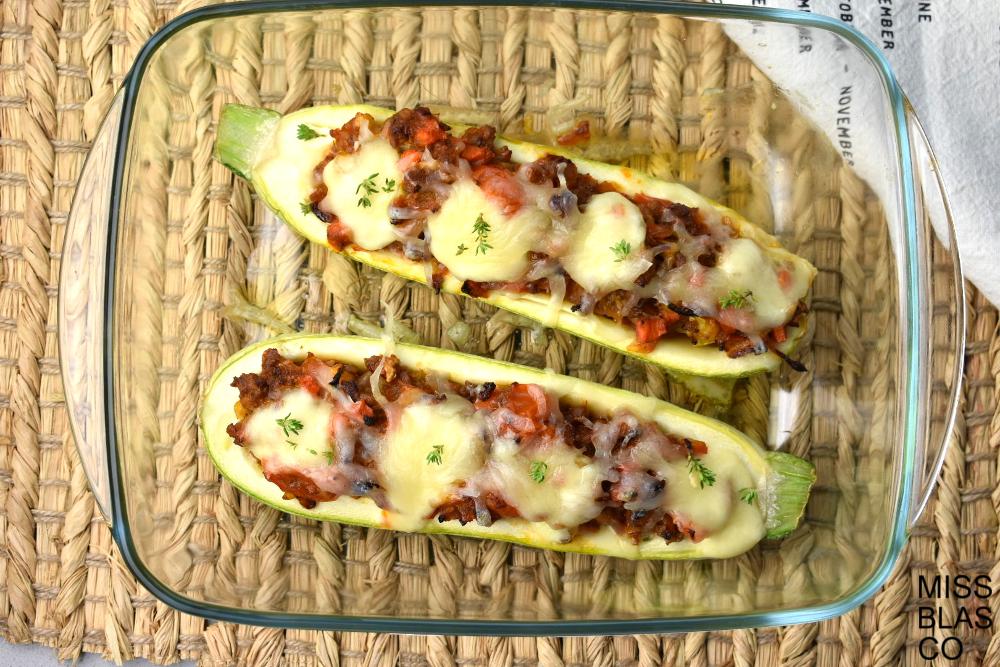 calabacines con carne