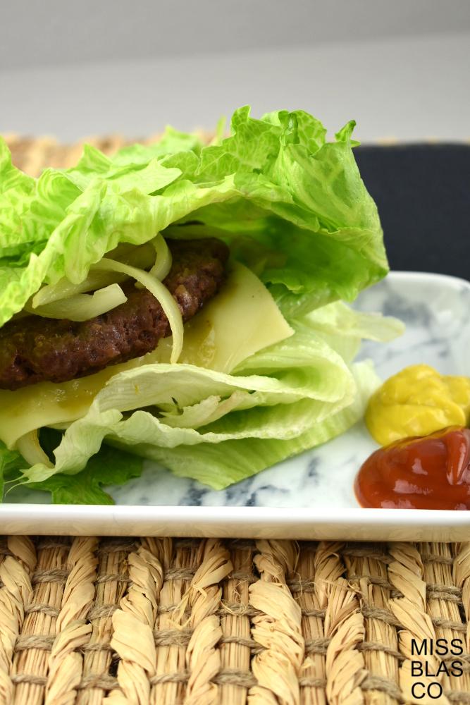 hamburguesa sin pan