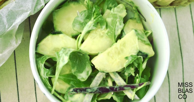 ENSALADA DE PEPINO «LOW CARB»