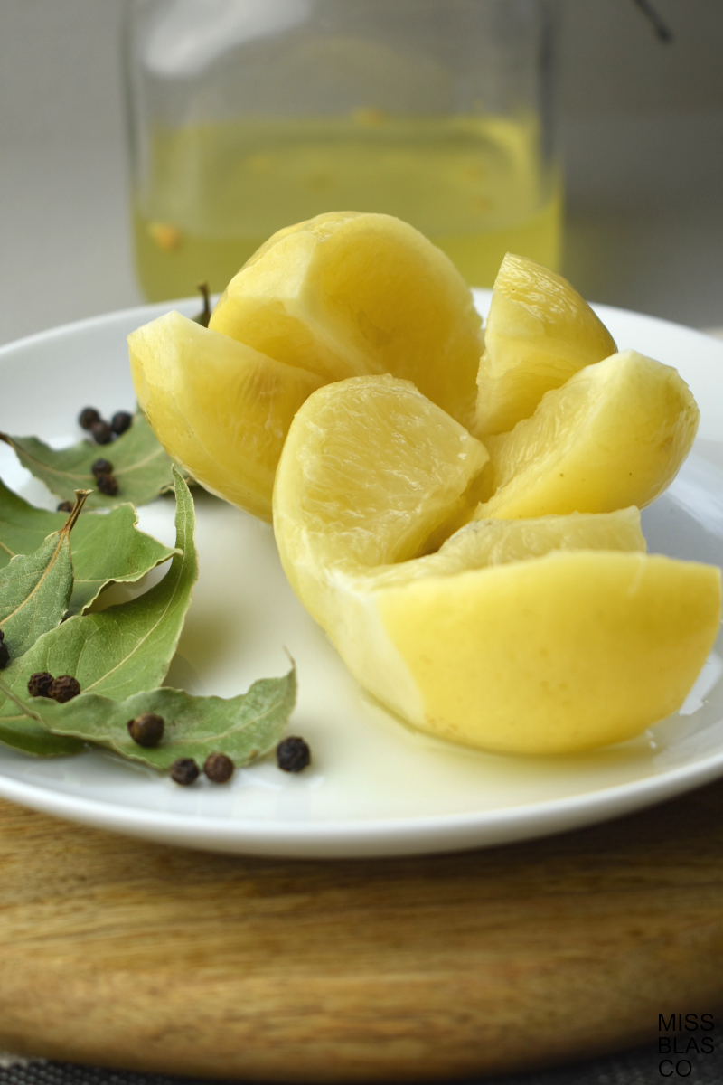 limones fermentados y su jugo