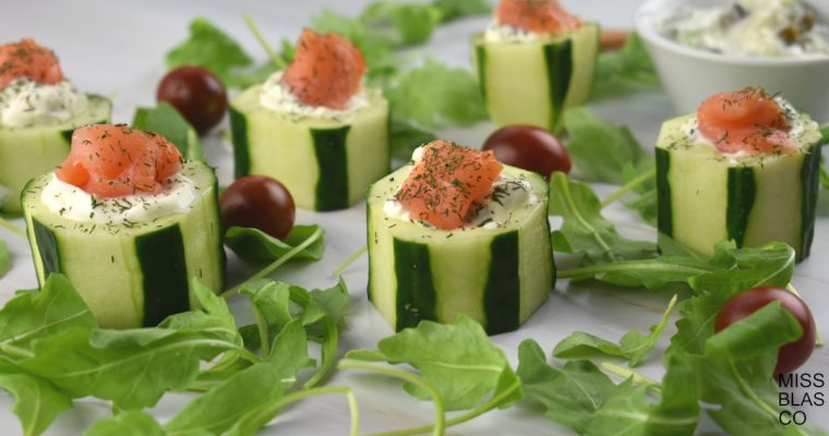 HEALTHY CUCUMBER SNACKS