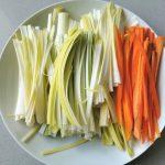 verduras en juliana