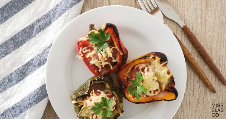 STUFFED PEPPERS IN 4 STEPS