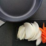 zanahoria y cebolla