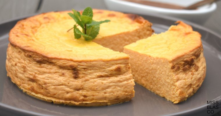 PUMPKIN CHEESECAKE WITHOUT SUGAR
