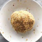 bola de masa para crackers