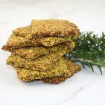 crackers de almendra y psyllium