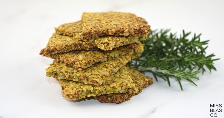 SEED CRACKERS WITH PSYLLIUM