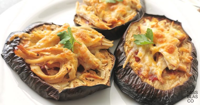 AUBERGINE SNACKS WITH CHICKEN