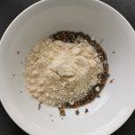 semillas con almendra molida