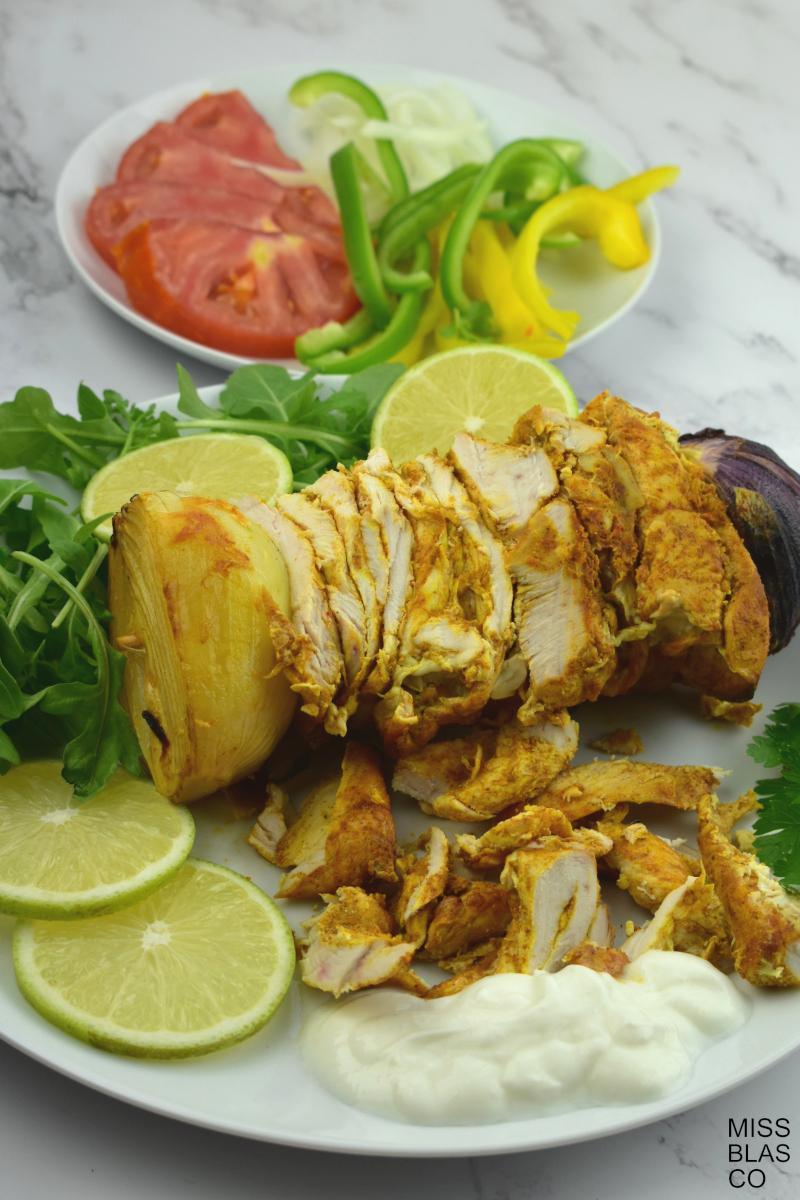 shawarma de pollo casera